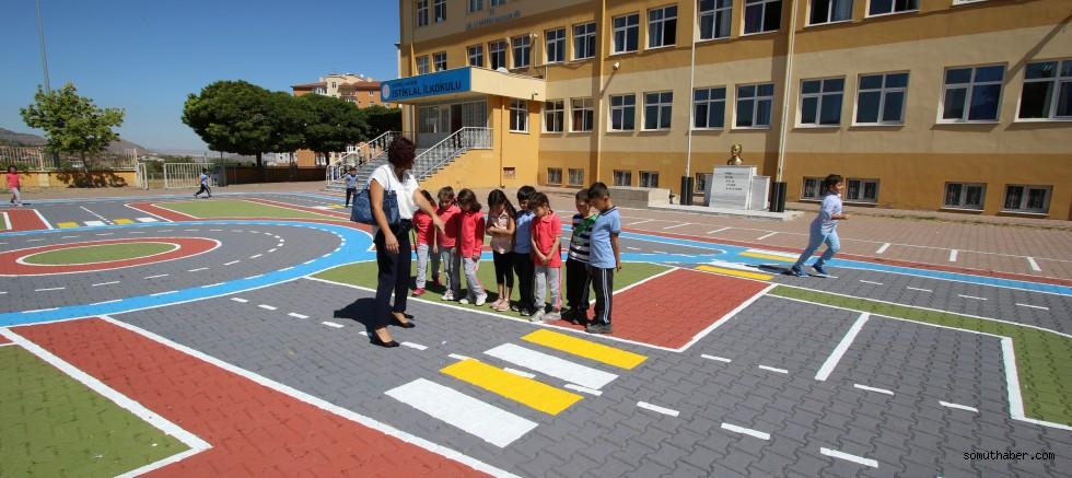 Hacılar İlçesinde Öğrenciler Uygulamalı Trafik Eğitimi Alacak