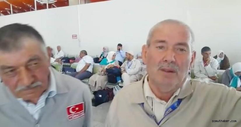 Havaalanı'nda mahsur kalan hacı adayları konuştu