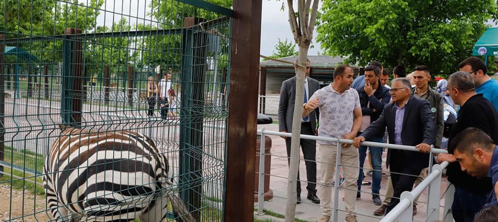 Hayvanları Koruma Günü'Nde Hayvanat Bahçesi Ücretsiz