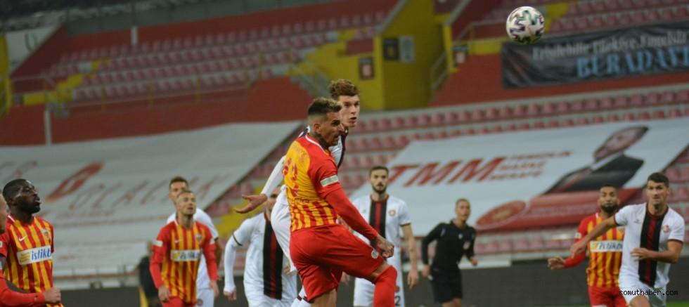 Hes Kablo Kayserispor - Fatih Karagümrük: 0-0