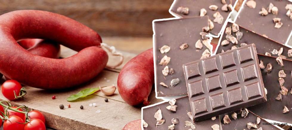 Hisar Çikolata'da ilaç, İmamoğlu Sucuk'ta baş eti tespit edildi