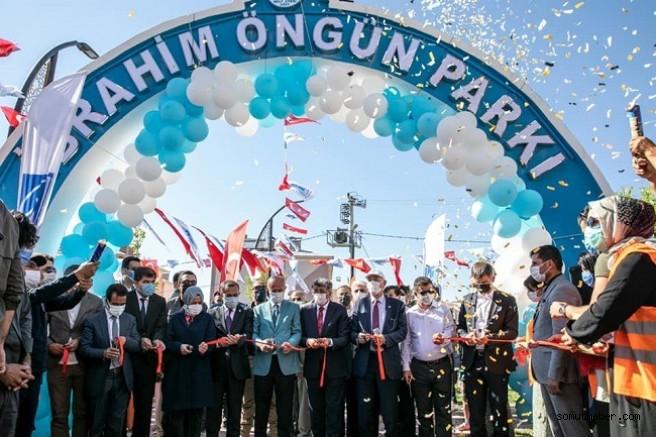 İbrahim Öngün Adına Memleketinde Park Açıldı