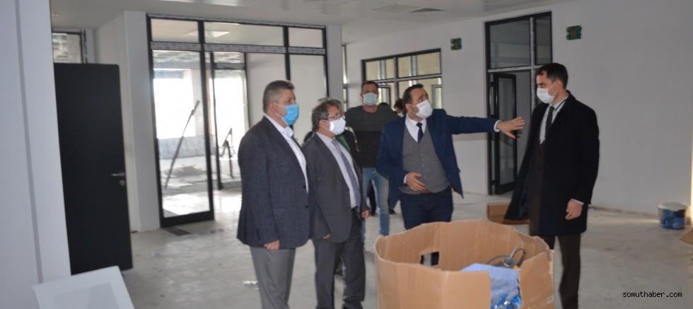 İl Sağlık Müdürü Benli, Bünyan Devlet Hastanesi'ni İnceledi
