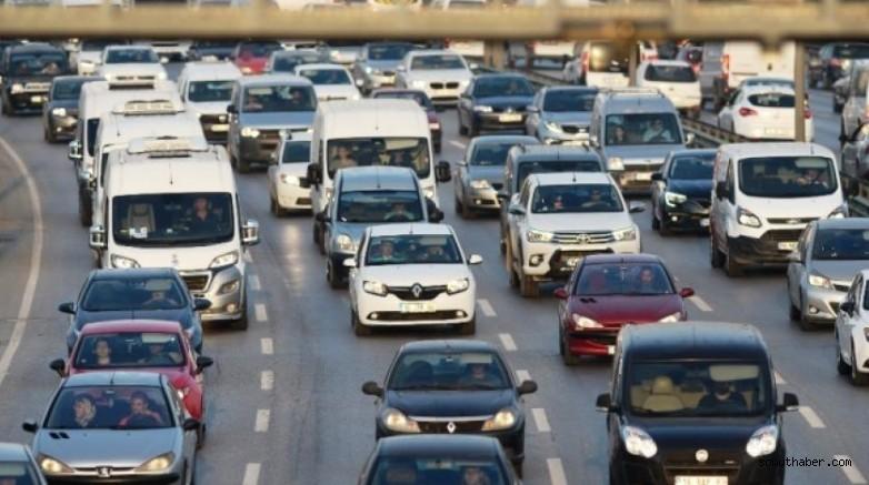 İşte Kayseri'de toplam araç sayısı…