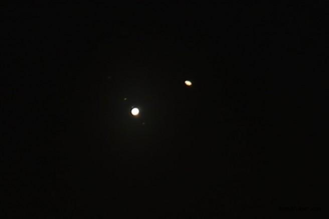 Jüpiter ve Satürn'ün 'Büyük Buluşması' Gerçekleşti