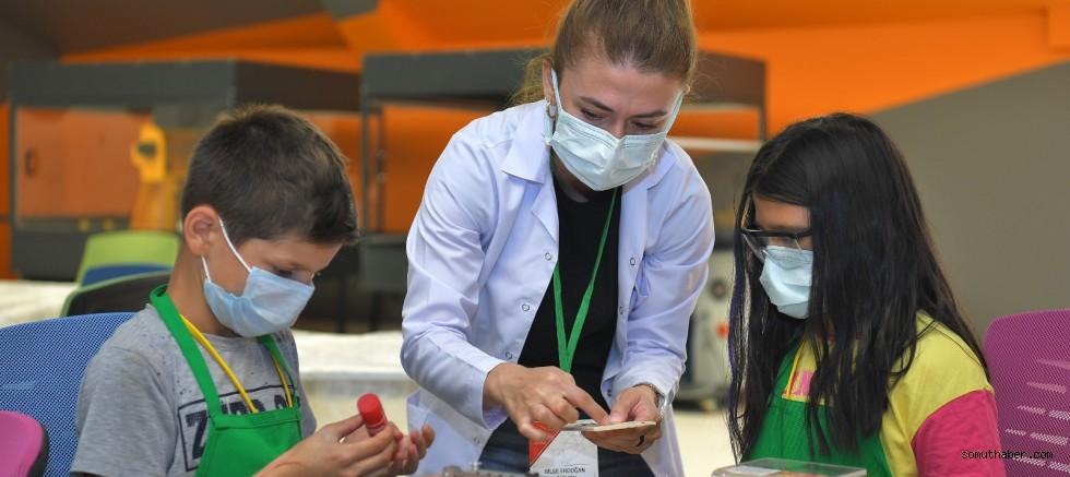Kayseri Bilim Merkezi'nde Bilim Kampları Başladı