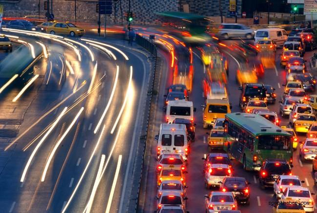 Kayseri'de 379 bin 734 araç trafikte