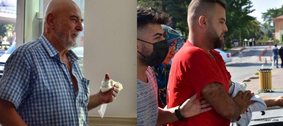 Kayseri'de Acemi Kasaplar Hastaneye Koştu