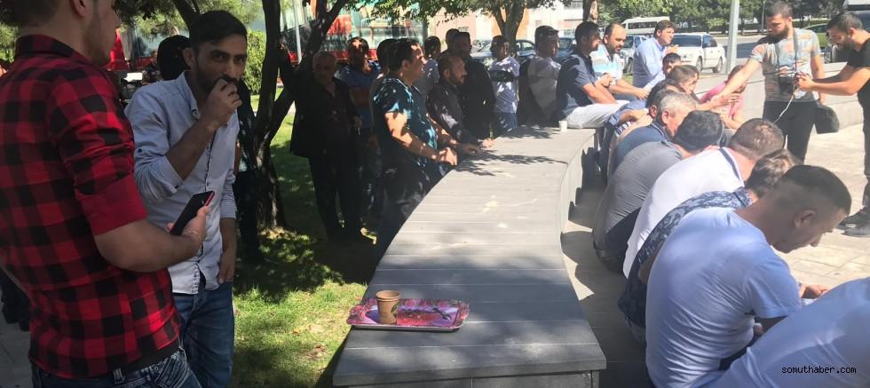 Kayseri'de Ayakkabı Emekçileri İş Bırakma Eyleminde