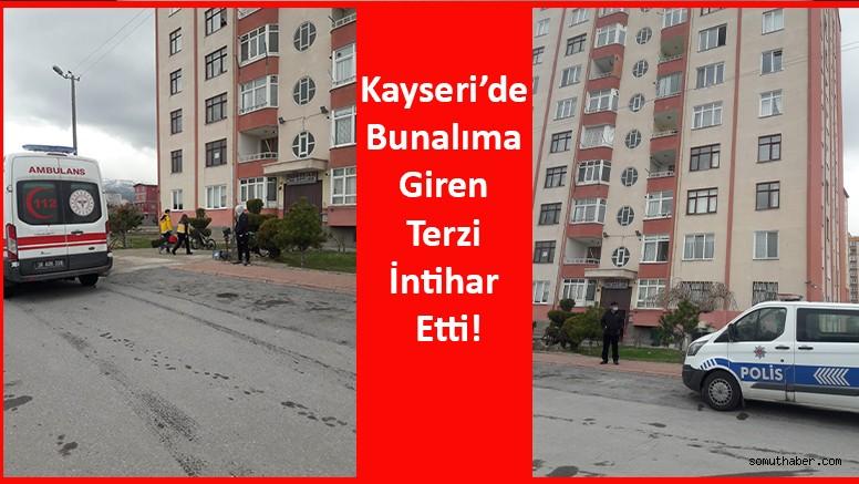 Kayseri'de Bunalıma Giren Terzi İntihar Etti!