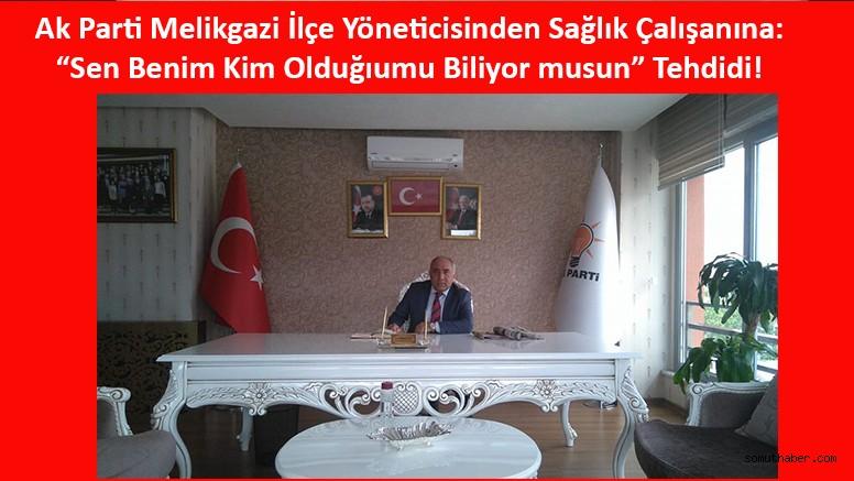 Kayseri'de Doktor Babasından Sağlık Çalışanına Şiddet!
