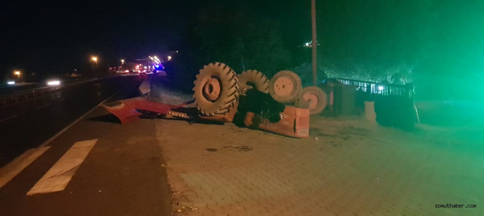 Kayseri'de Facia Gibi Kaza: 8 Yaralı!