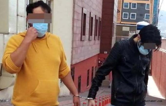 Kayseri'de İran Uyruklu 3 Kişiye Uyuşturucu Gözaltısı
