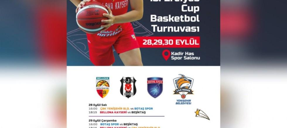 Kayseri'de Kadınlar Basketbol Kupası Yapılacak