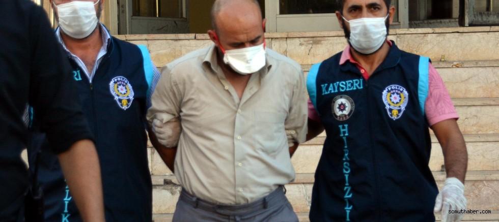 Kayseri'de Kuyumcuyu Soyan Şüpheli Tutuklandı
