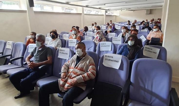 Kayseri'de Öğretmenlere Pandemi Sunumu