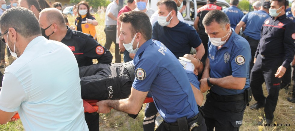 Kayseri'de Polis Aracı İle Otomobil Çarpıştı: 2'si Polis 5 Yaralı