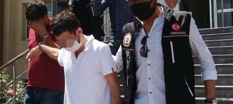 Kayseri'de Uyuşturucu Operasyonu: 5 Gözaltı