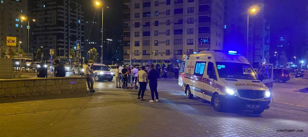 Kayseri'de Zincirleme Kaza Sonrası Ortalık Karıştı