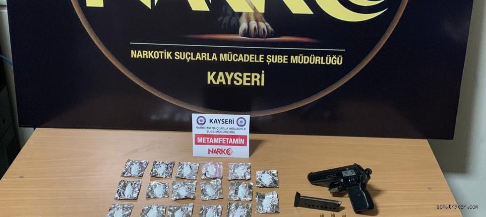 Kayseri'deki Uyuşturucu Operasyonunda 2 Gözaltı