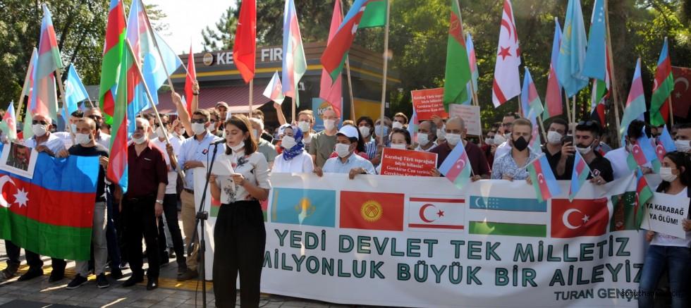 Kayseri'den Azerbaycan halkına destek