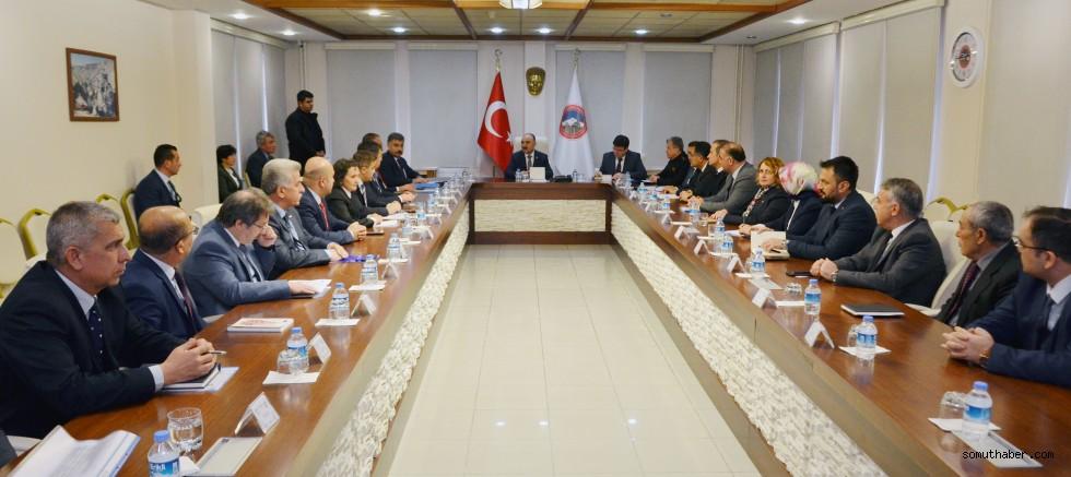 Kayseri İl İdare Şube Başkanları Toplantısı Yapıldı