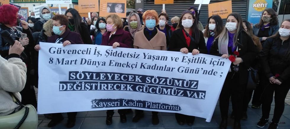 Kayseri Kadın Platformu: Haklarımıza Hayatlarımıza Göz Dikenlerin İnadına Taleplerimizi Yineliyoruz