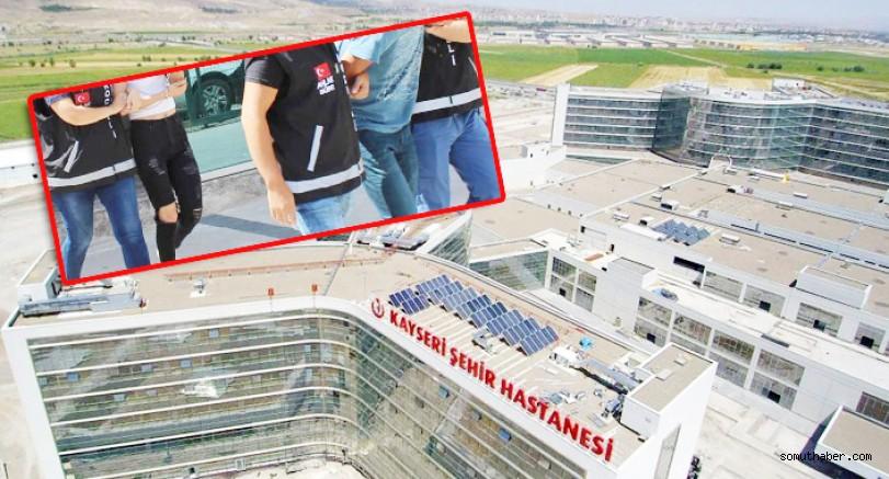 Kayseri Şehir Hastanesine 'Fuhuş' Rezaleti Bulaştı!