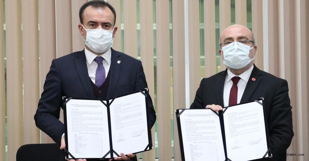Kayseri Üniversitesi ile Kayseri SMMMO Arasında Protokol İmzalandı
