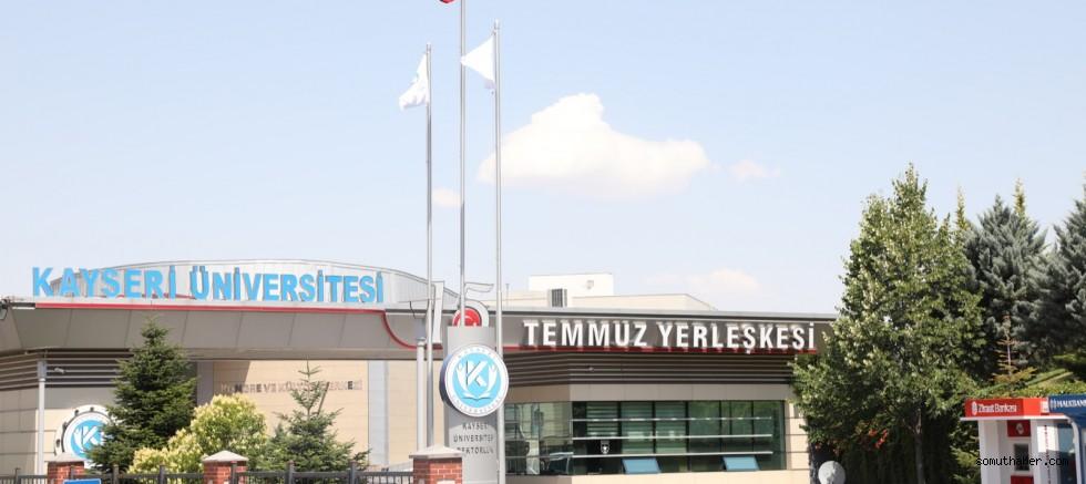 Kayseri Üniversitesi, OSB'lerde Olmayı Ön Planda Tutuyor