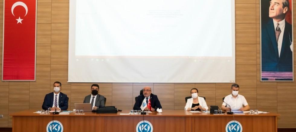 Kayseri Üniversitesi Senatosu Toplandı