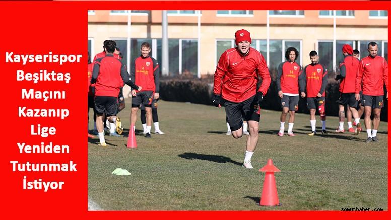 Kayserispor, 10 Maçlık Galibiyet Hasretine Beşiktaş Maçıyla Son Vermek İstiyor