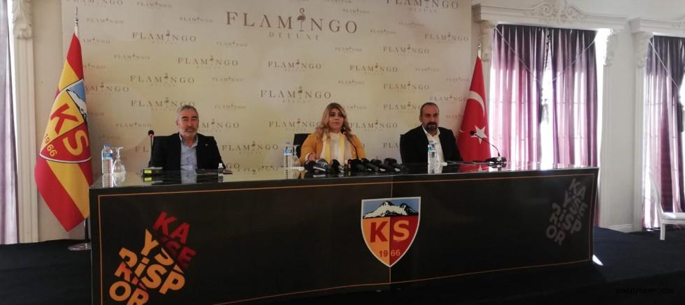 Kayserispor Başkanı Berna Gözbaşı birlik çağrısı yaptı