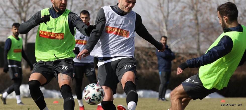 Kayserispor, Çaykur Rizespor Maçı Hazırlıklarına Başladı