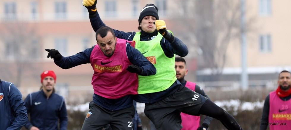 Kayserispor'da Gaziantep FK Maçı Hazırlıkları Tamamlandı