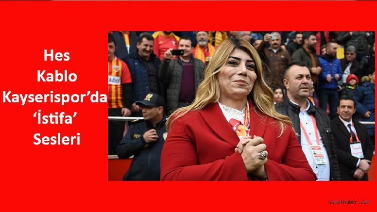Kayserispor'da 'İstifa' Sesleri
