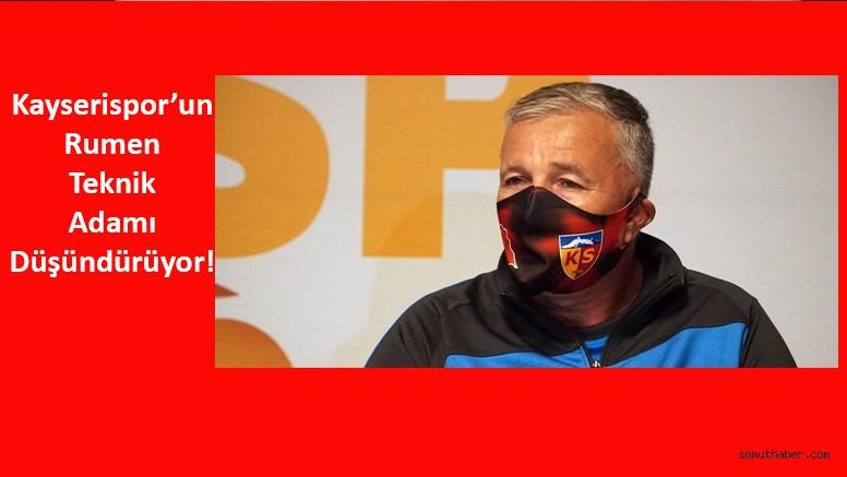 Kayserispor'da 'Petrescu' Tartışılıyor