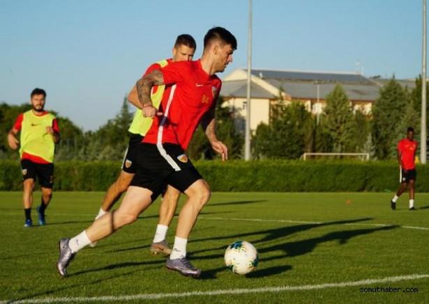 Kayserispor'da Trabzonspor maçı hazırlıkları devam ediyor