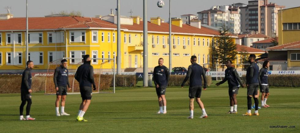 Kayserispor, Konyaspor Maçı Hazırlıklarını Sürdürdü