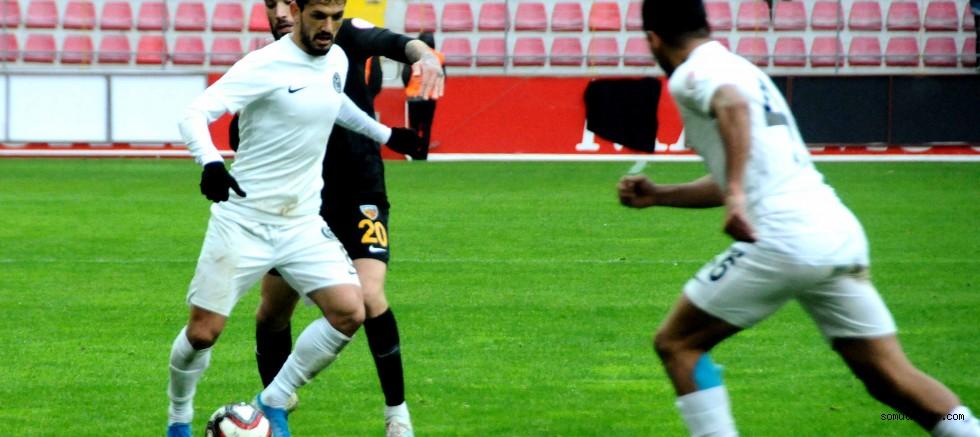 Kayserispor kupada moral buldu: 3-2