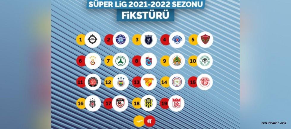 Kayserispor'un 2021-22 Sezonu Fikstürü Belli Oldu