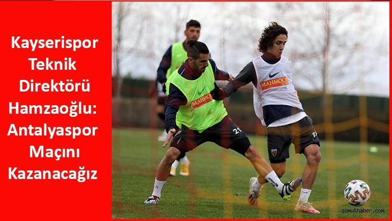Kayserispor'un Antalyaspor Maçı Hazırlıkları Devam Ediyor