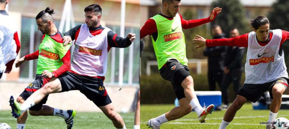 Kayserispor'un Beşiktaş Maçı Hazırlıkları Devam Ediyor