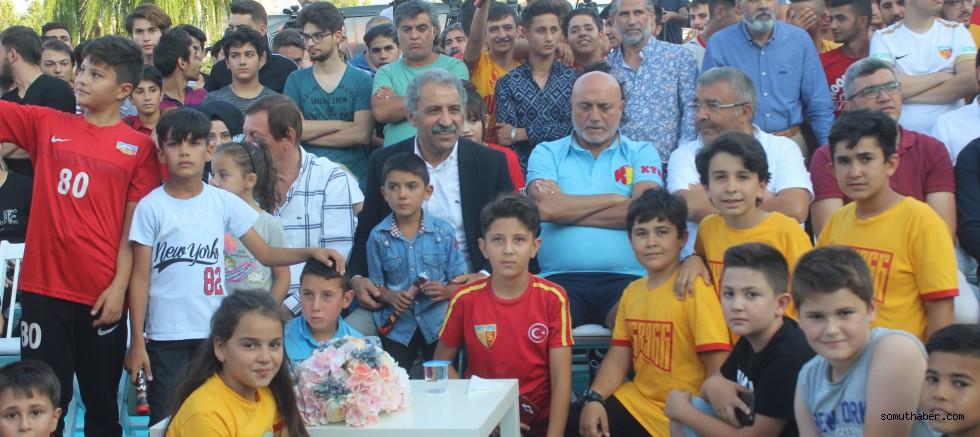 Kayserispor yeni sezona mührünü vuracak