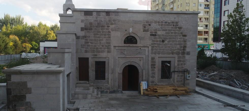 Kocasinan Belediyesi, 2 Asırlık Tarihi Camiyi Restore Etti