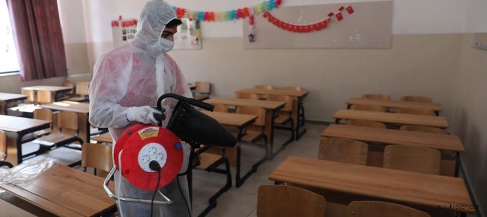 Kocasinan'da Daha Sağlıklı Nesiller İçin Okullar Dezenfekte Edildi