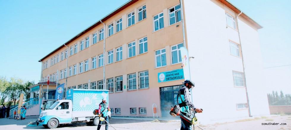 Kocasinan'daki Okullarda Öğrenciler Sağlıkla Büyüyor
