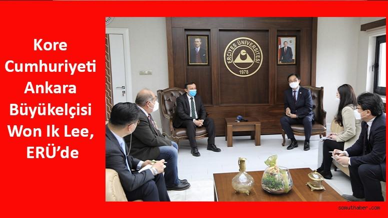 Kore Cumhuriyeti Ankara Büyükelçisi Won Ik Lee, ERÜ'de