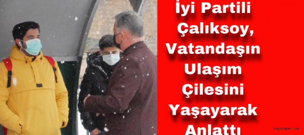 Meclis Üyesi Mustafa Çalıksoy, Vatandaşın Sesi Oldu