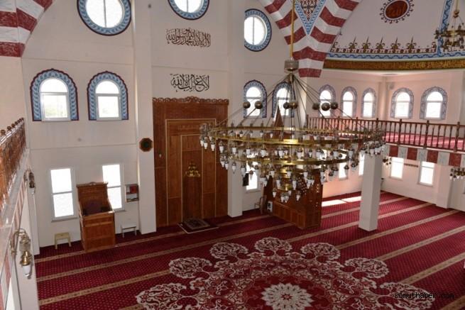 Melikgazi Belediyesi Anbar Camii'ni Yeniledi